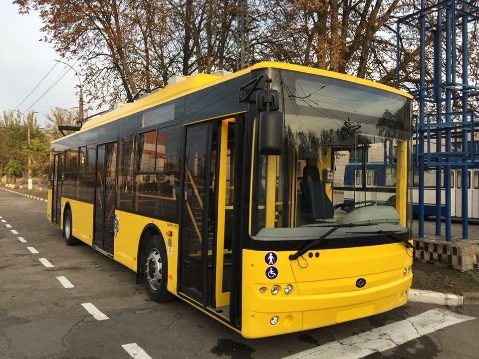 богдан тролейбус