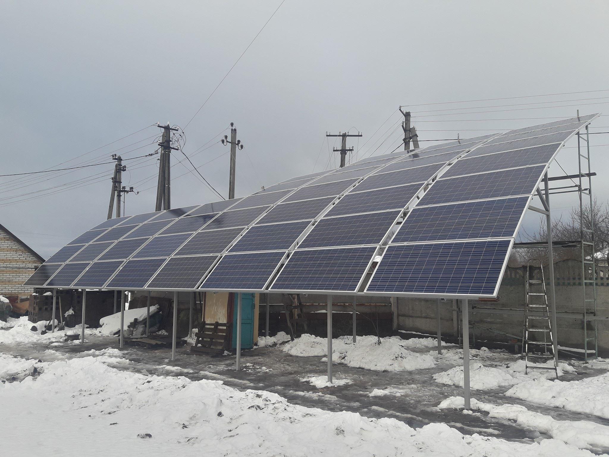 сонячна електростанція сес