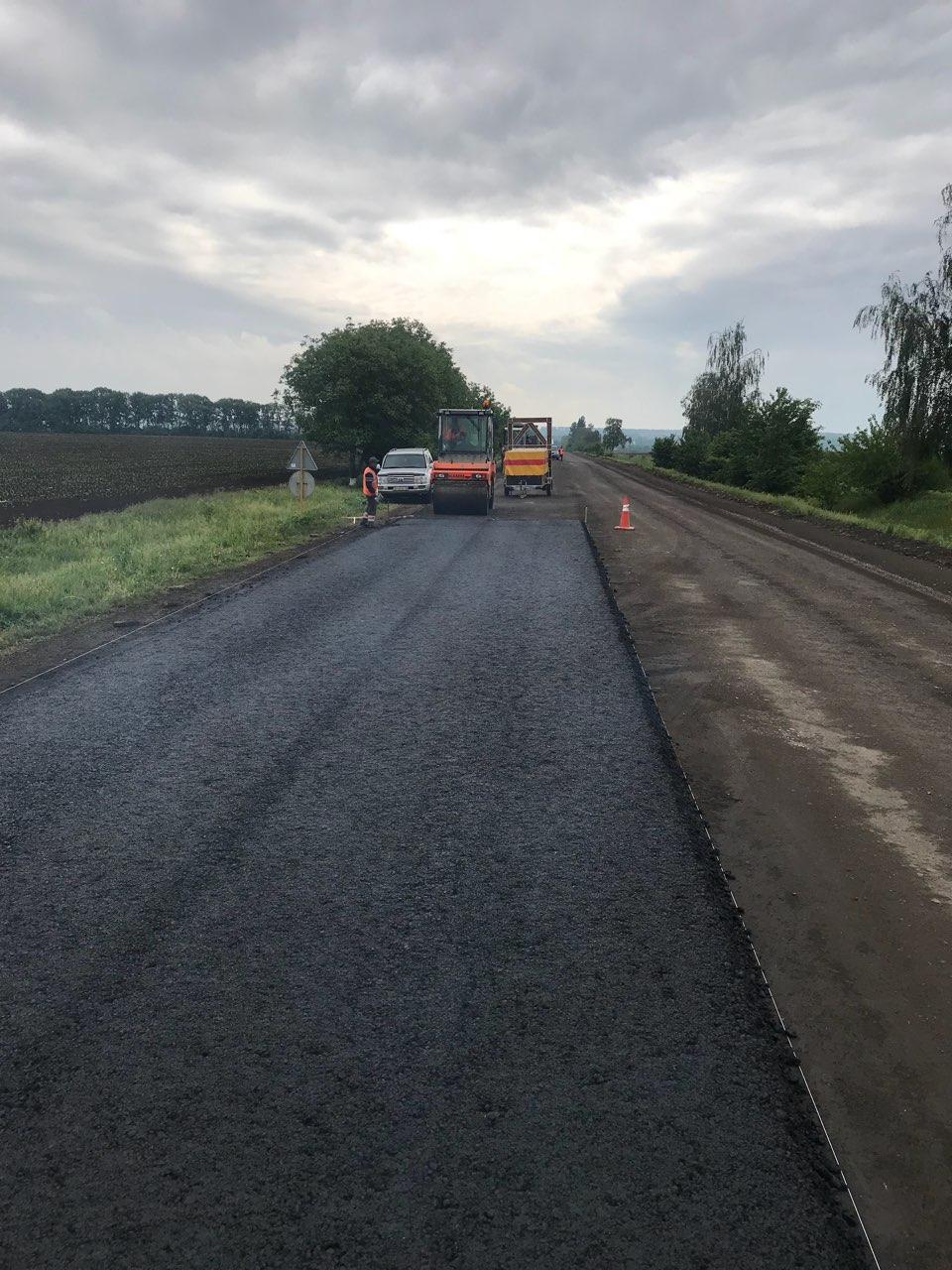 ремонт доріг черкаси дорога