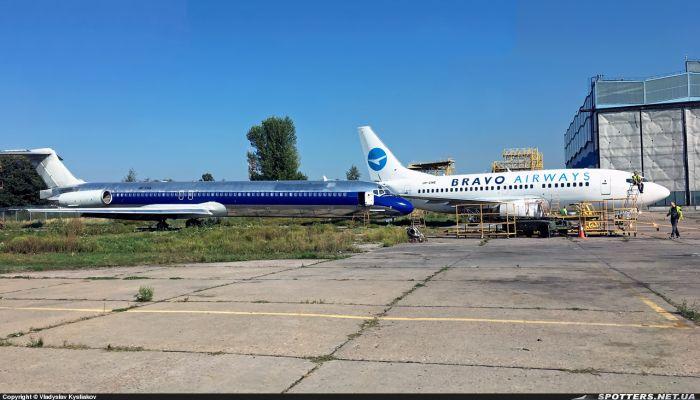 Авіакомпанія Bravo поповнила свій флот літаком MD-82