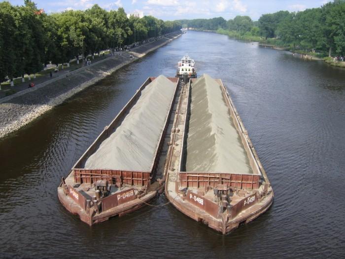Річка Прип'ять і судноплавство