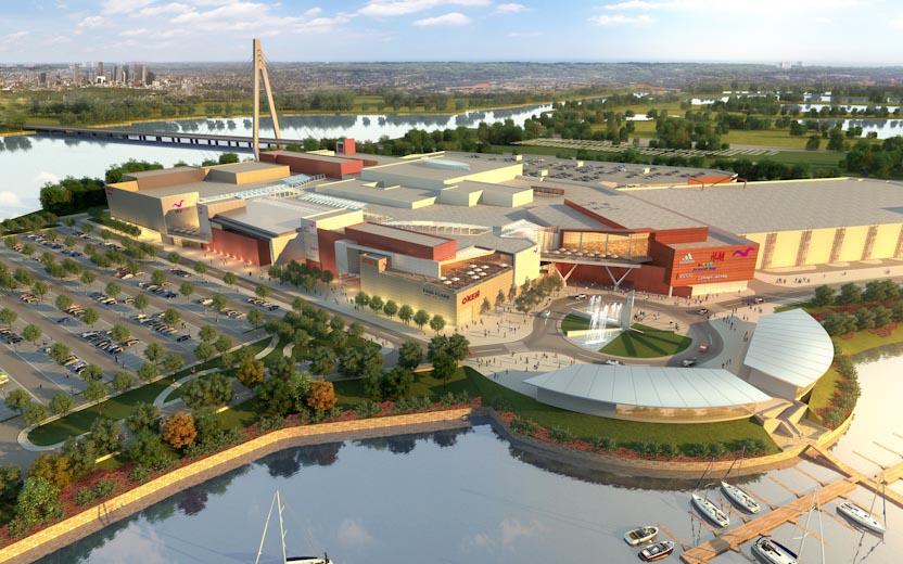 Третя черга столичного ТРЦ Sky Mall відкриється до 2021 року
