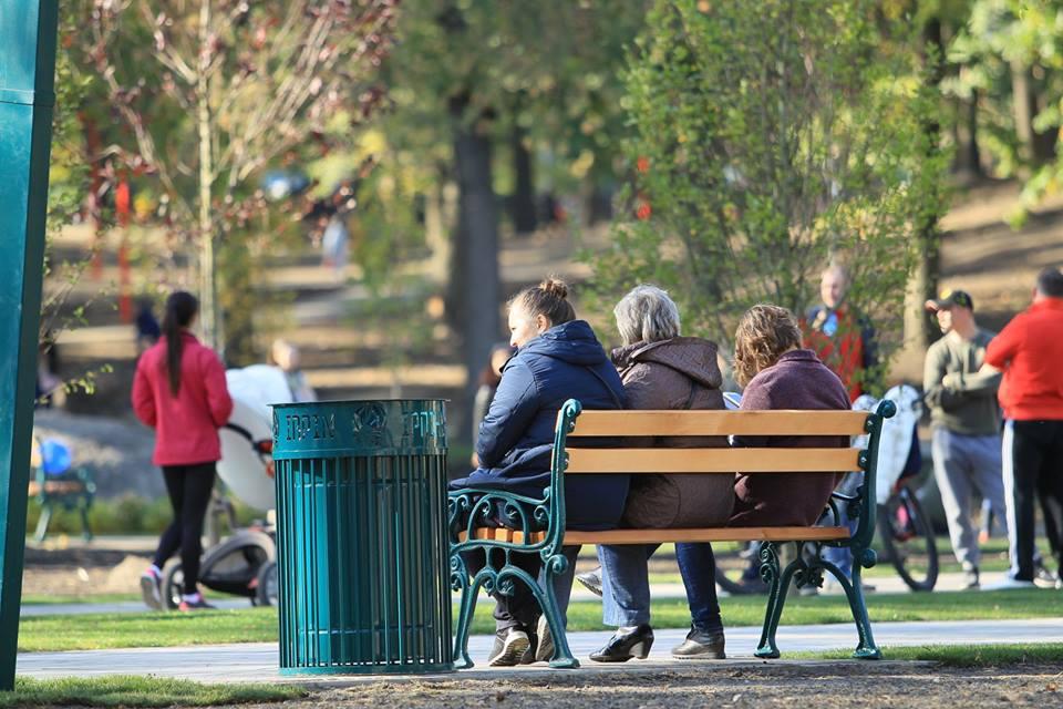 В Ірпені відкрили реконструйований міський парк