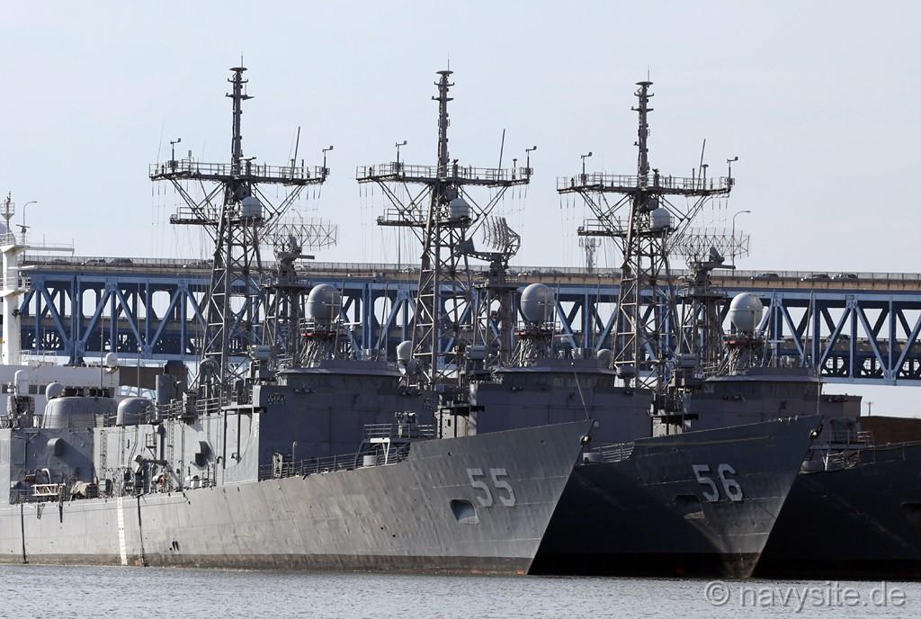 Стало відомо яку кількість фрегатів «Oliver Hazard Perry» можуть отримати ВМС України