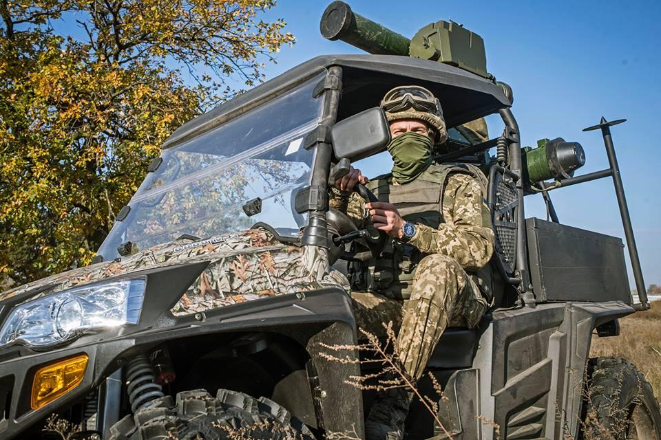 """93-та окрема механізована бригада отримала на озброєння всюдиходи UTV з ПТРК """"Стугна-П"""" (фото)"""