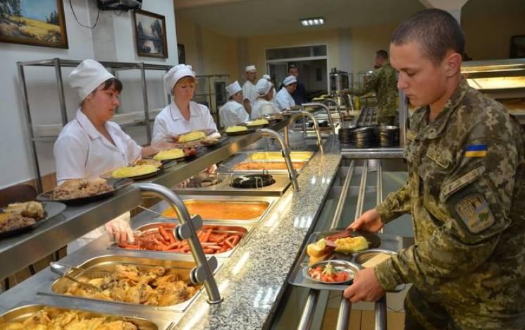 Нова армія: Наступного тижня 50 військових частин перейдуть на нову систему харчування