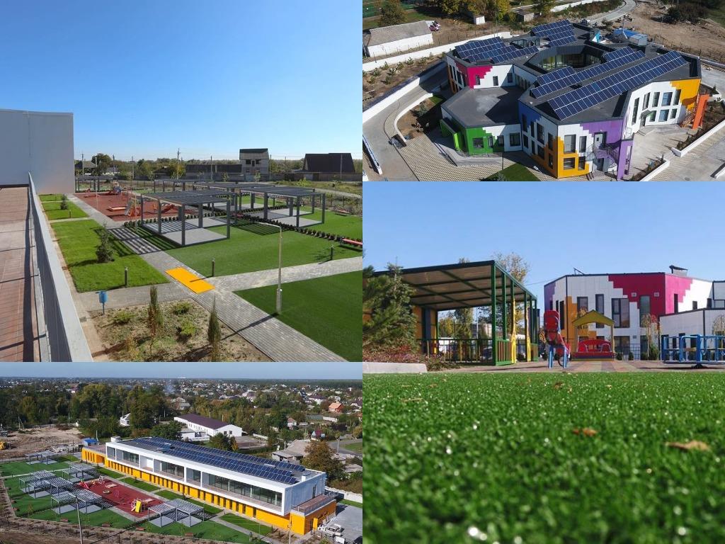 У Дніпропетровській області незабаром відкриють два сучасних дитячих садка (фото+відео)