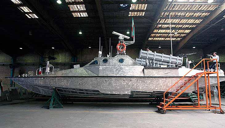 «Кузня на Рибальському» розробляє новий ракетний катер для Азовського моря
