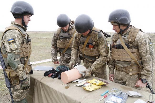 В Одеській військовій академії показали нові методики навчання системі «БАРС»