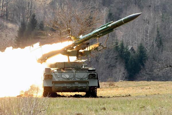Міноборони випробують зенітно-ракетні комплекси