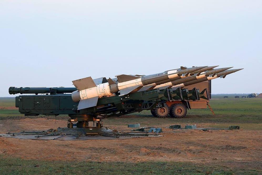ЗРК стрільба С-125 ППО