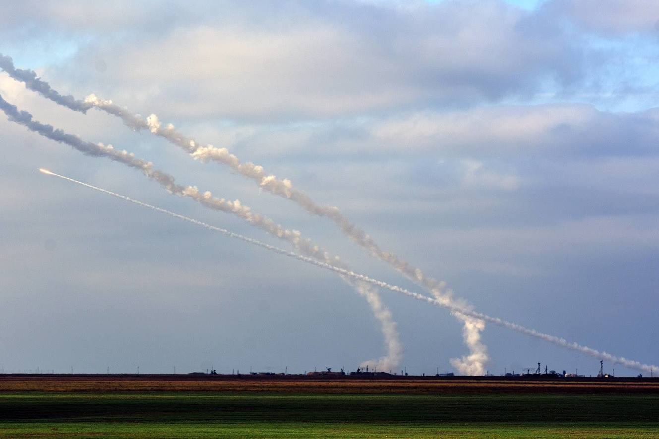 ЗРК стрільба С-300 С-125