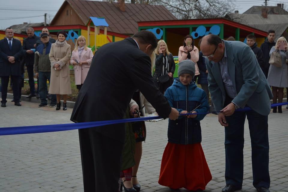 В Чернівцях відкрили новозбудований дитячий садок