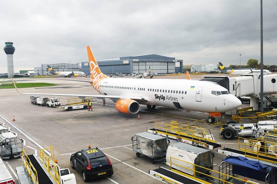 Авіакомпанія SkyUp виконала перший політ до Європи