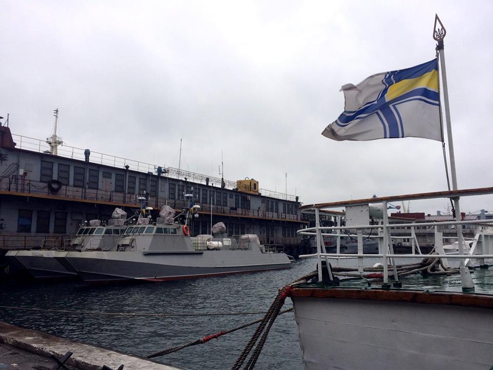 До Одеси для продовження випробувань прибули катери Кентавр