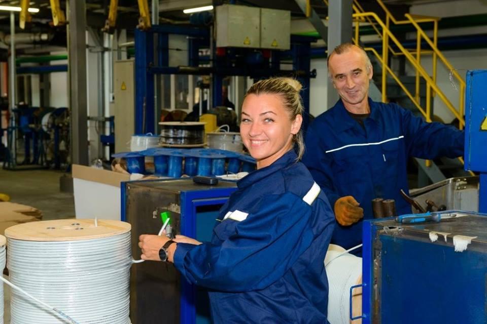 Завод Одескабель відкрив нові виробничі потужності