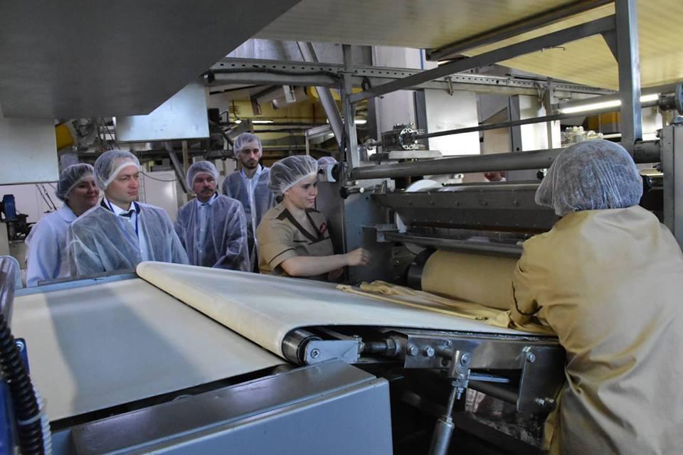 На Львівщині відкрили нову лінію з виробництва печива для експорту в ЄС
