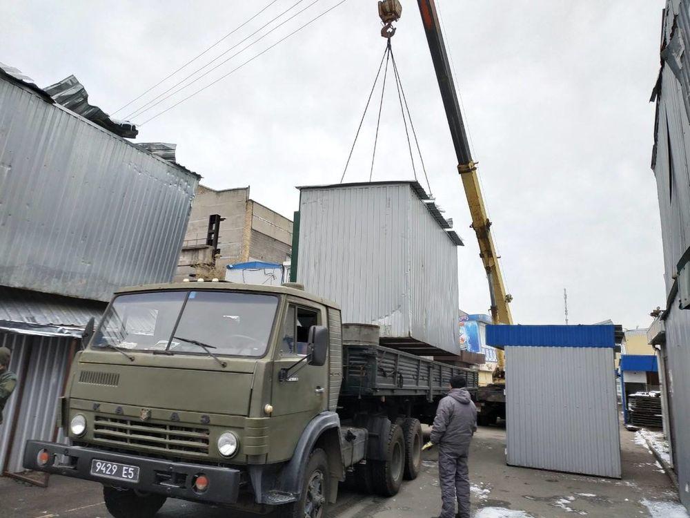 Демонтовані київські мафи послужать на Донбасі