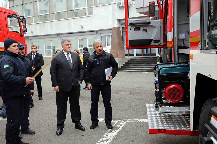 Підрозділи ДСНС Києва отримали нові пожежні автомобілі