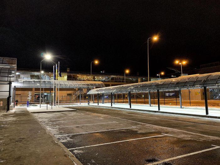 На станції Бориспіль-аеропорт майже добудований критий перехід від платформ до терміналу D
