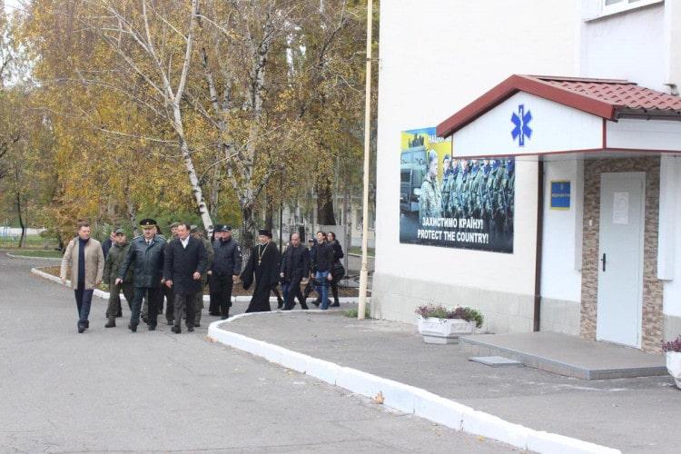 У Запоріжжі відкрили гуртожиток для військових-контрактників (фото)