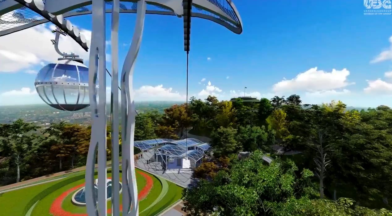 У Львові в 2019 році мають намір розпочати будівництво канатної дороги на Високий Замок (відео)