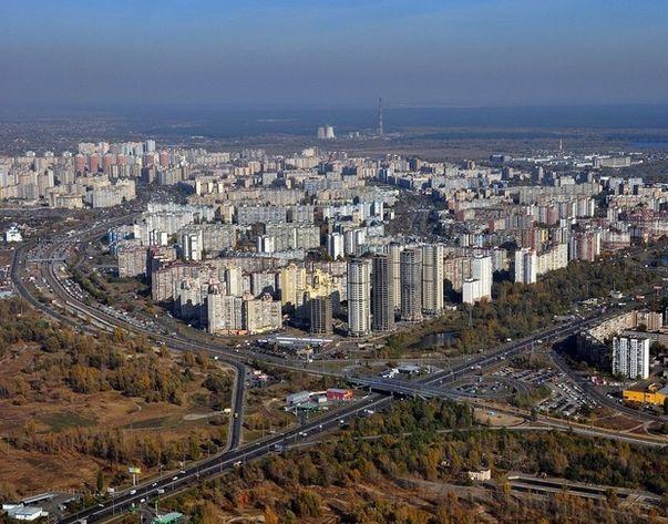 При в'їзді на Троєщину в Києві планують побудувати багаторівневу транспортну розв'язку