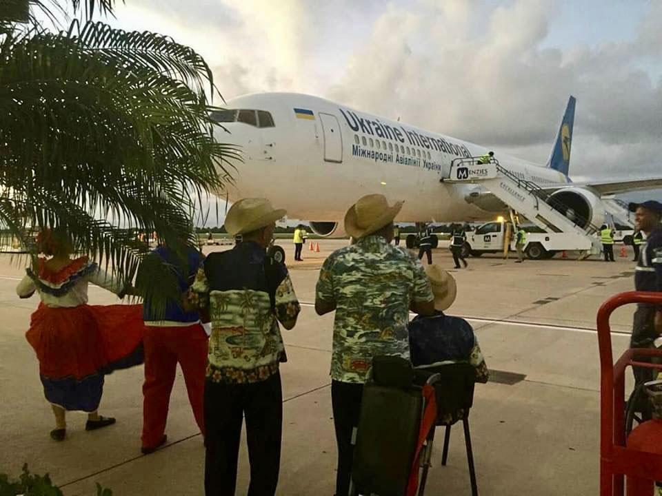 Міжнародні авіалінії України розпочали виконання польотів у Домініканську республіку