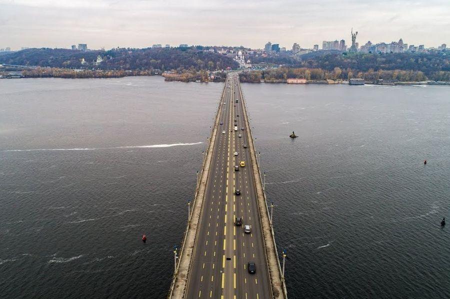 У 2019 році міст Патона в Києві розширять