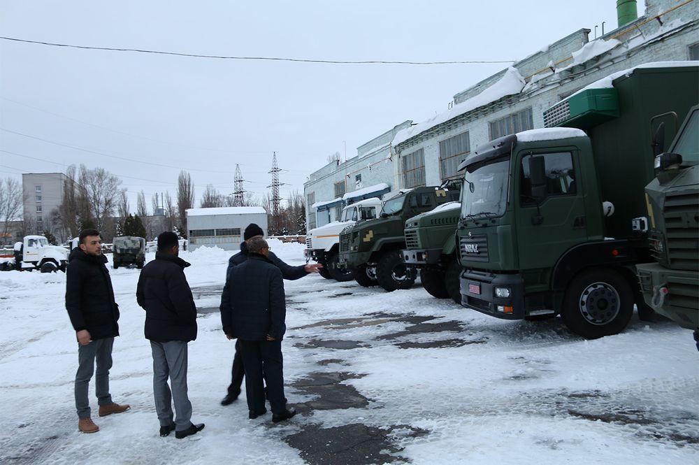 Кременчуцький автозавод відвідали представники бізнес-кіл Західної Африки