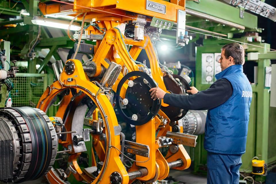 Третина експорту шин заводу «Росава» припадає на Євросоюз