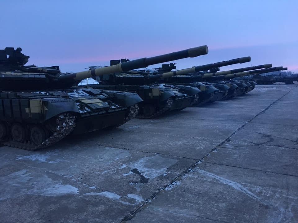 Батальйон «Донбас-Україна» оновив танковий парк
