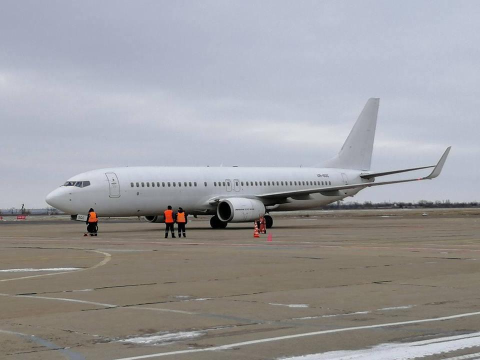 Миколаївський аеропорт вперше за багато років відправив міжнародний рейс до Єгипту