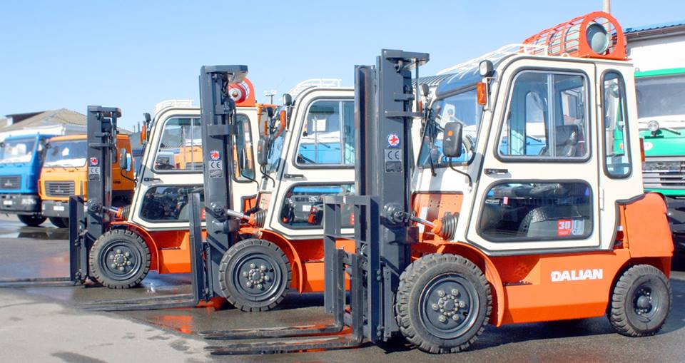 Нові навантажувачі Dalian