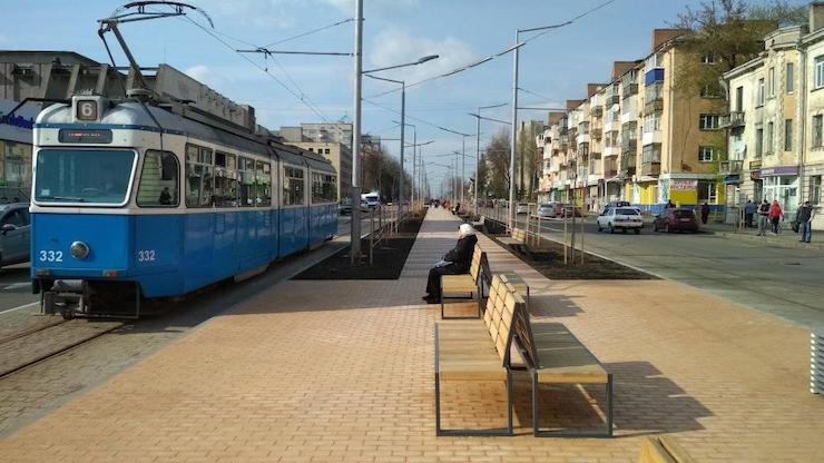 У Вінниці реконструюють вулицю за європейськими стандартами